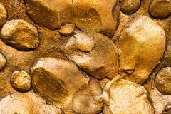 Textura del oro Fotos de archivo