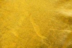 Textura del oro Fotos de archivo libres de regalías