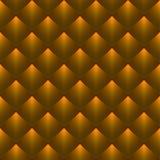 Textura del oro. Fondo inconsútil del vector Foto de archivo libre de regalías
