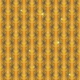 Textura del oro. Fondo inconsútil del vector Imágenes de archivo libres de regalías
