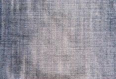 Textura del paño de Jean fotografía de archivo