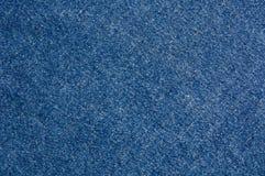 Textura del paño de los pantalones vaqueros Fotografía de archivo libre de regalías