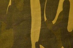 Textura del paño del camuflaje de la materia textil Fotografía de archivo libre de regalías