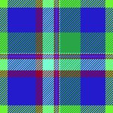 Textura del paño del color del tartán Fotografía de archivo