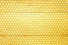 Textura del panal Foto de archivo libre de regalías