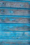 Textura del panel azul de madera para el fondo Foto de archivo