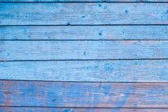 Textura del panel azul de madera para el fondo Fotos de archivo