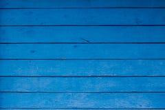 Textura del panel azul de madera para el fondo Fotografía de archivo