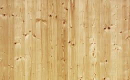 Textura del panel de madera de pino Foto de archivo libre de regalías