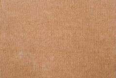 Textura del papel acanalado Foto de archivo libre de regalías
