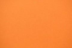 textura del papel anaranjado del color Fotos de archivo libres de regalías