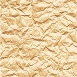 Textura del papel arrugado Foto de archivo libre de regalías