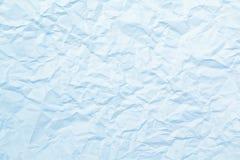 Textura del papel arrugado Imagen de archivo libre de regalías