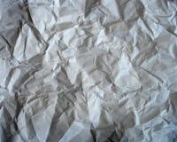 Textura del papel arrugado Ilustración del vector Imágenes de archivo libres de regalías
