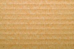 Textura del papel de Brown Foto de archivo libre de regalías