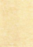 Textura del papel de pergamino Foto de archivo
