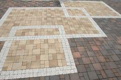 Textura del pavimento Fotos de archivo