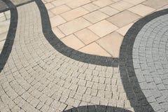 Textura del pavimento Foto de archivo libre de regalías