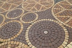 Textura del pavimento fotografía de archivo