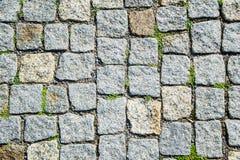 Textura del pavimento de mosaico Fotos de archivo
