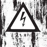 Textura del peligro del Grunge Fotos de archivo libres de regalías
