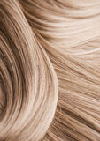 Textura del pelo rubio Fotos de archivo