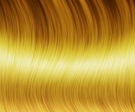 Textura del pelo rubio Foto de archivo