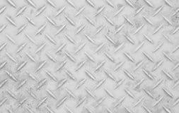 Textura del piso de acero del metal Imágenes de archivo libres de regalías