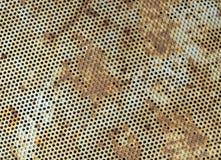 Textura del piso de la rejilla del metal Imagen de archivo