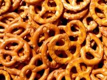 Textura del pretzel Fotografía de archivo libre de regalías