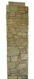 Textura del primer del fondo beige resistido áspero de la pared de ladrillo Fotografía de archivo libre de regalías