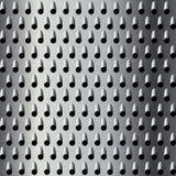 Textura del rallador del metal Fotografía de archivo libre de regalías