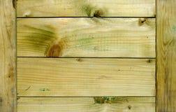 Textura del rectángulo de madera Foto de archivo libre de regalías