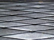 Textura del romboide del metal Foto de archivo libre de regalías