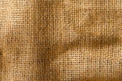 Textura del saco Imagen de archivo