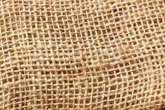 Textura del saco de la fibra Imagen de archivo libre de regalías