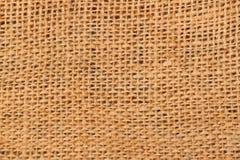 Textura del saco del café Foto de archivo libre de regalías