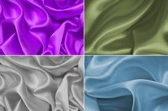 Textura del satén Imagen de archivo libre de regalías