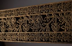 Textura del sello para el paño Imagen de archivo libre de regalías