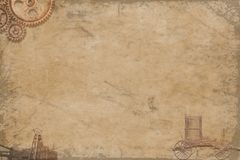 textura del steampunk Imagen de archivo