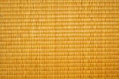 Textura del suelo de Tatami Fotos de archivo