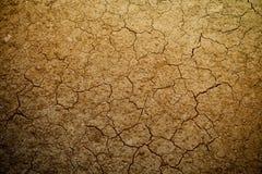 Textura del suelo seco Imagen de archivo libre de regalías
