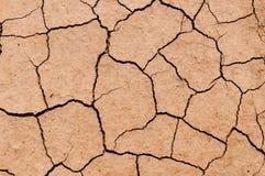 Textura del suelo seco en la tierra Fotografía de archivo