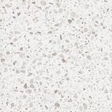 Textura del suelo del terrazo Modelo realista del vector del piso de mosaico con las piedras naturales, granito, mármol, cuarzo,  libre illustration
