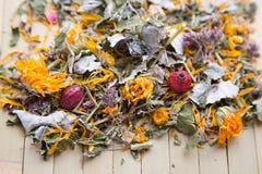 Textura del té herbario imágenes de archivo libres de regalías