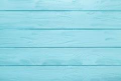 Textura del tablón o fondo de madera de la tabla azul clara Imagen de archivo libre de regalías