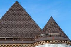Textura del tejado Fotografía de archivo