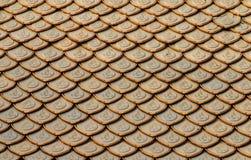 Textura del tejado Fotos de archivo libres de regalías