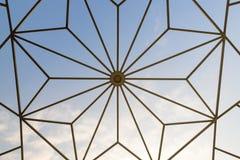 Textura del tejado de la bóveda Fotos de archivo
