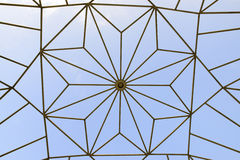 Textura del tejado de la bóveda Foto de archivo libre de regalías